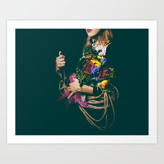 Past Near Future  Art Print