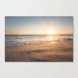 Sunspot in the Sand Canvas Print