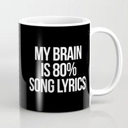 Song Lyrics Funny Quote Coffee Mug