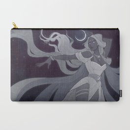 Selene White Carry-All Pouch