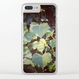 Trailing Ivy #2 Clear iPhone Case