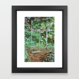 post tropical Framed Art Print