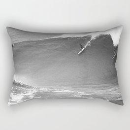 Mavericks Condition Black Rectangular Pillow