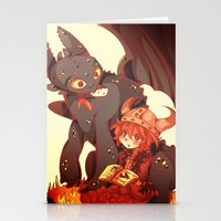 how to train your dragon Stationery Cards featuring How to Train your dragon! by SweetOwls