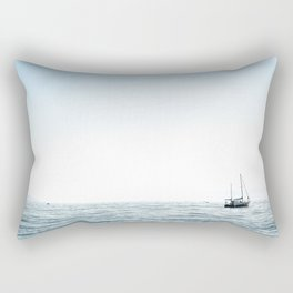 BOAT - WATER - OCEAN - SEA - PHOTOGRAPHY Rectangular Pillow