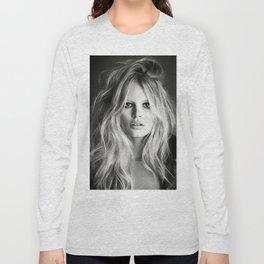 Brigitte Bardot Poster Long Sleeve T-shirt