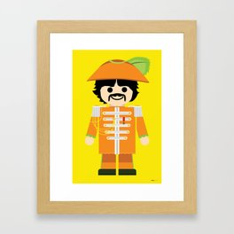 Toy George Framed Art Print
