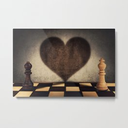 the impossible relationship Metal Print
