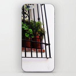 Whitewashed Walls iPhone Skin