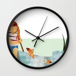 Fishpond Wall Clock