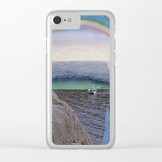In Between Worlds Clear iPhone Case