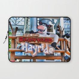 Back at the Barnyard Hayride Laptop Sleeve