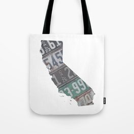 Vintage California Tote Bag