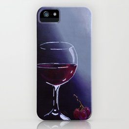 Wine-Ding Down iPhone Case