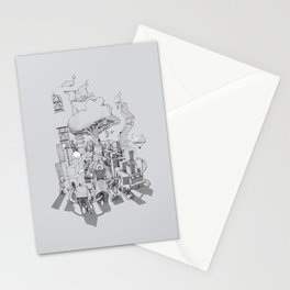 Impossible City Stationery Cards