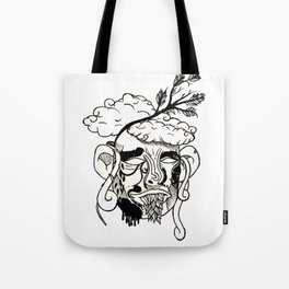 Whacky Face Tote Bag