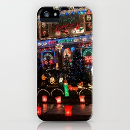 Wow that's Christmas spirit iPhone Case