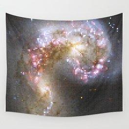 Pixel Nebula Wall Tapestry