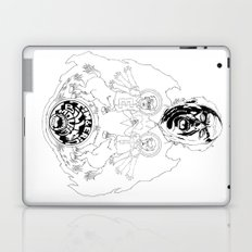 Two Horses, Tim and Eric (B&W) Laptop & iPad Skin