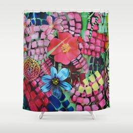 Garden Action Shower Curtain