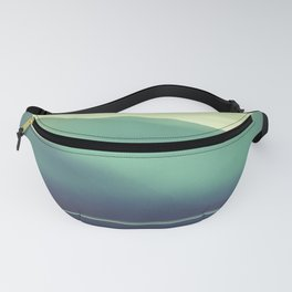 Summer at the Lake Turquoise Fanny Pack