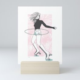 You Go Girl Mini Art Print