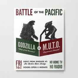 Battle of the Pacific Metal Print