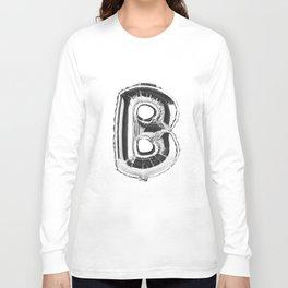 Letter B Long Sleeve T-shirt