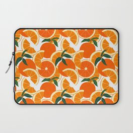 Orange Harvest - White Laptop Sleeve
