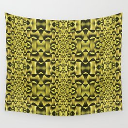 Yellow Haze Wall Tapestry