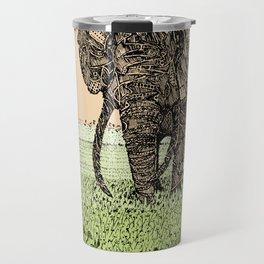 AFRICA (African Elephant) Travel Mug