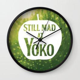Still Mad at Yoko Wall Clock