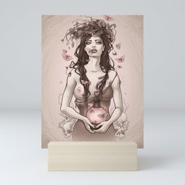 Pink Lanter Mini Art Print