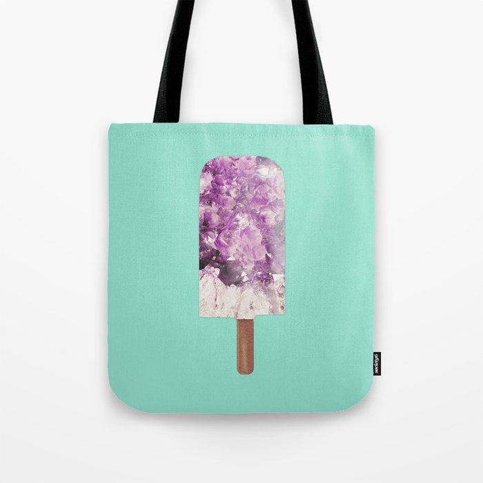 Amethyst Popsicle Tote Bag