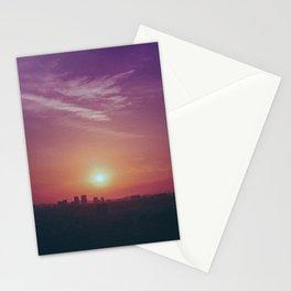 City Sunsets Stationery Cards