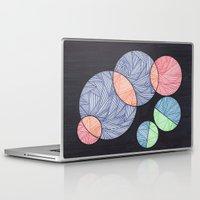dot Laptop & iPad Skins featuring Dot Dot Dot by Sarah J Bierman