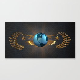 CS GO The Global Elite (Artistic/Background) Canvas Print