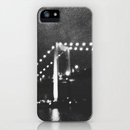 Manhattan Bridge At Night iPhone Case