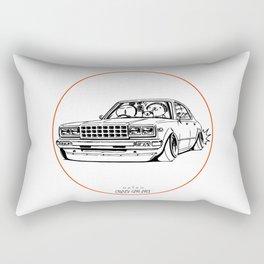 Crazy Car Art 0210 Rectangular Pillow
