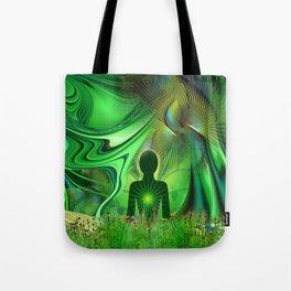 Heart Chakra Energy. Tote Bag