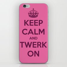 Twerk On iPhone & iPod Skin