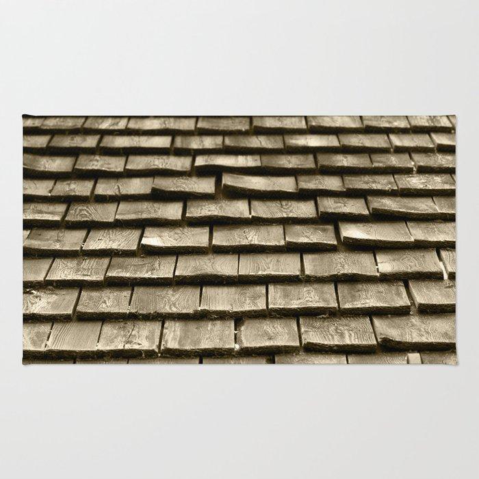 Wood Roof Rug