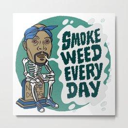 Smoke weed Metal Print