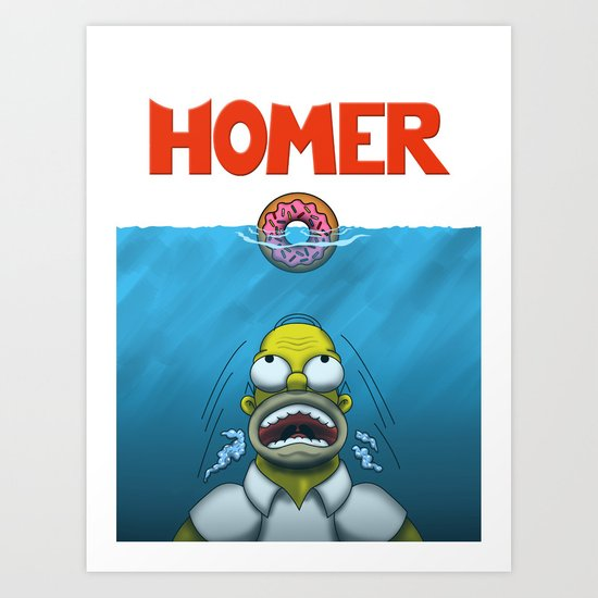 HOMER Art Print