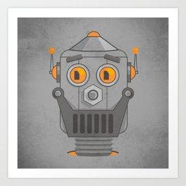 Love my robot Art Print