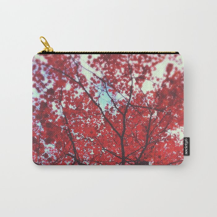 Autumn Red 2 Carry-All Pouch