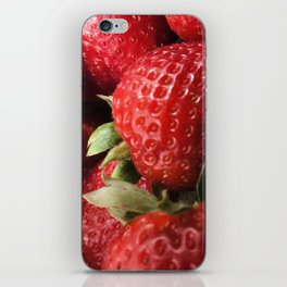 Just Strawberries iPhone Skin