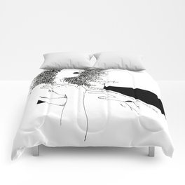 Curly Poems Comforters