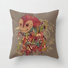 The Doodler Throw Pillow