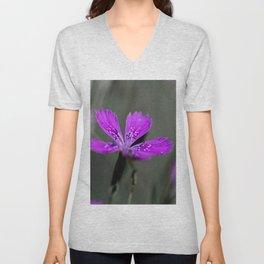 Lilac Bloom Unisex V-Neck